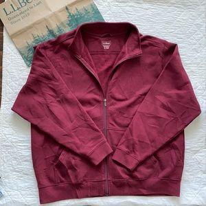 LL Bean Full Zip Sweatshirt